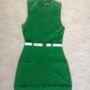 Alice + Olivia Green Knit Dress